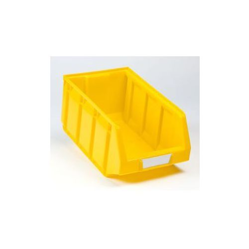 Otwarty pojemnik magazynowy z polietylenu,dł. x szer. x wys. 345 x 205 x 164 mm