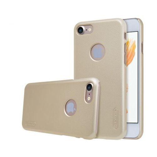 frosted case do iphone 7 złoty marki Nillkin