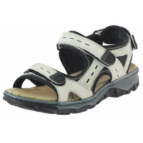Sandały Rieker 68872 - Beżowe, kolor beżowy