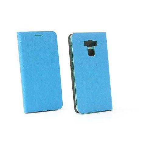Asus Zenfone 3 Max (ZC553KL) - etui na telefon Flex Book - niebieski, kolor niebieski