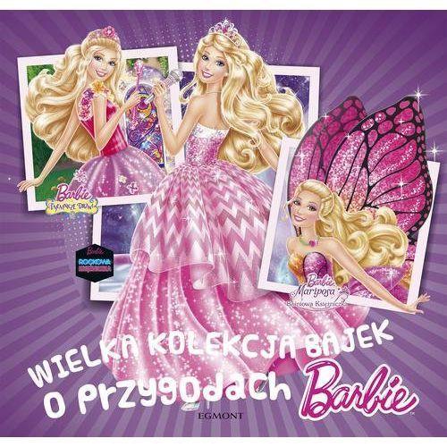 Wielka kolekcja bajek o przygodach Barbie - Jeśli zamówisz do 14:00, wyślemy tego samego dnia. Darmowa dostawa, już od 99,99 zł.