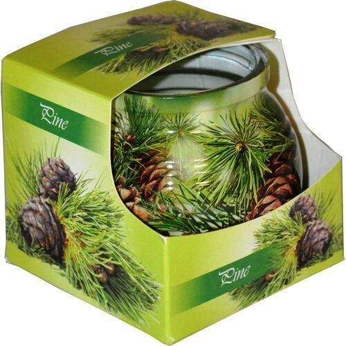 Świeca zapachowa w szklance powlekanej Miral Pine (5901969630718)