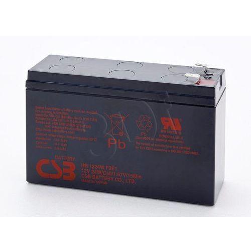 Akumulator do ups fideltonik hr1224 ( 12v 6400mah )- wysyłka dziś do godz.18:30. wysyłamy jak na wczoraj! marki Fideltronik