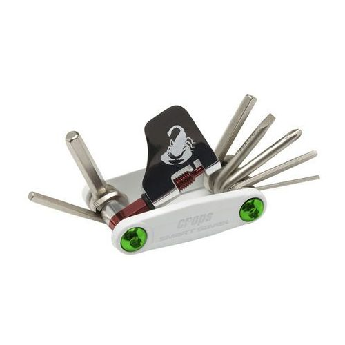 Multiklucz do roweru Crops Smartsaver EX, Biały (4571144617295)