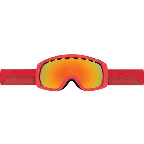 gogle snowboardowe DRAGON - Rogue - Stone Red/Red Ionized (454) rozmiar: OS