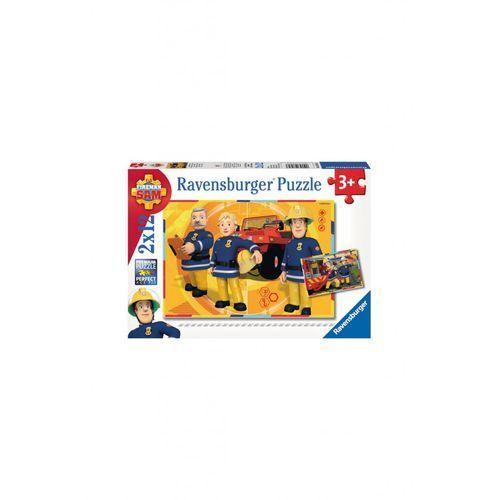Ravensburger Puzzle strażak sam 2x12 elementów 1y36p9