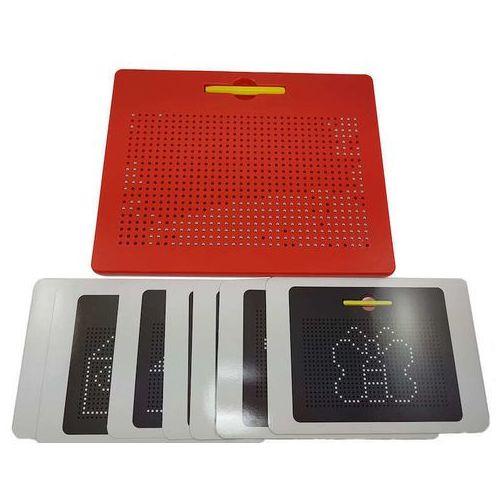 Toypex Tablica magnetyczna magpad [czerwona] (8595631600306)