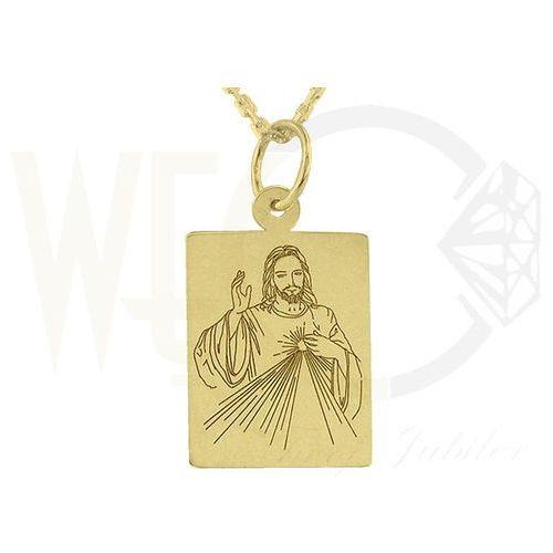 Medalik z żółtego złota WEC-Z-MED-JEZUS.M-2 ()