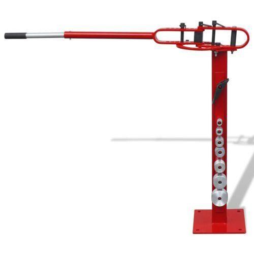 vidaXL Ręczna zaginarka do rur stalowych montowana na podłodze z kategorii Pozostałe narzędzia