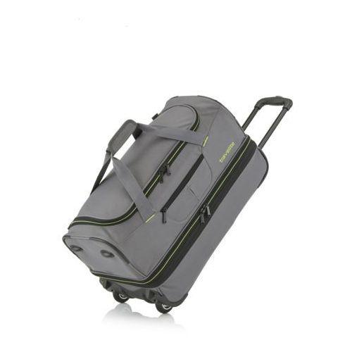Travelite Basics duża torba podróżna poszerzana szara
