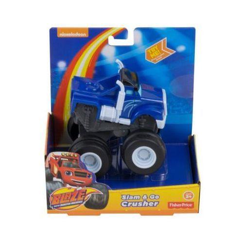 Hot wheels Monster crusher naciśnij i jedź - darmowa dostawa od 199 zł!!!
