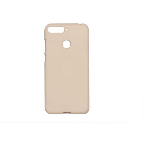 Huawei Y6 Prime (2018) - Mercury Goospery Soft Feeling - piaskowy róż
