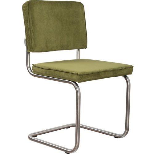 Zuiver Krzesło RIDGE BRUSHED RIB zielone 25A 1100086