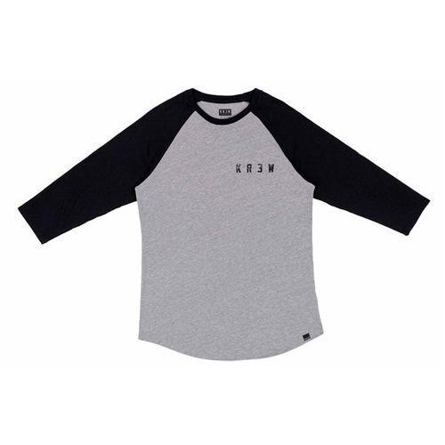 Koszulka  - distress locker grey heather/black (036) rozmiar: m, Krew