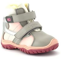 Dziecięce buty zimowe 20048 - różowy ||szary marki Wojtyłko