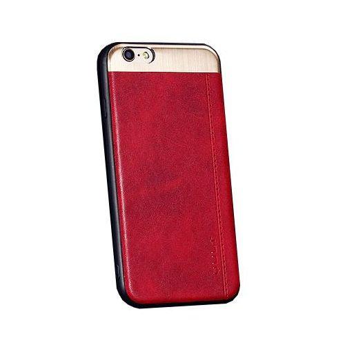 """Etui QULT Back Case Slate do iPhone 7/8 4.7"""" Czerwony, kolor czerwony"""