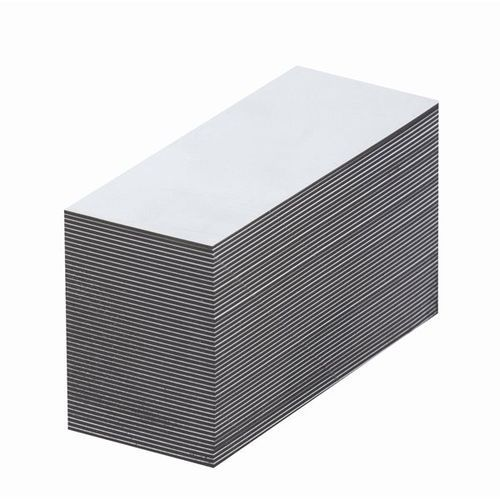 Magnetyczna tablica magazynowa, białe, wys. x szer. 30x80 mm, opak. 100 szt. zap marki Haas