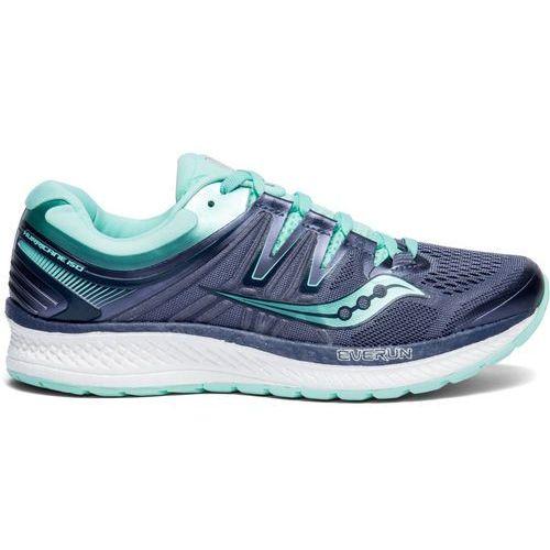 Saucony hurricane iso 4 buty do biegania kobiety szary/niebieski us 7 | 38 2018 szosowe buty do biegania (0884547877383)