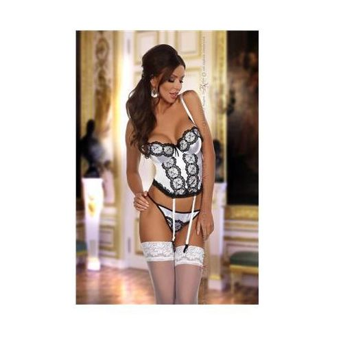 Komplet Model Michele corset White, kolor biały