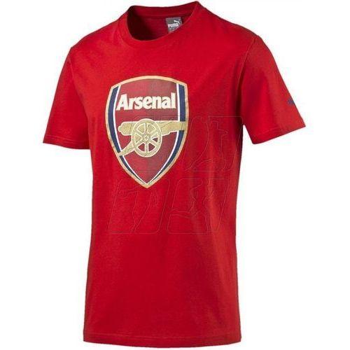 Koszulka  arsenal football club fan tee junior 74929701 marki Puma