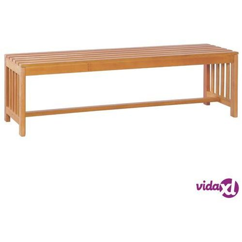 vidaXL Ławka ogrodowa, 130 cm, lite drewno eukaliptusowe (8718475712282)