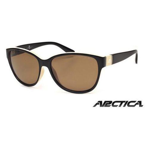Okulary damskie Arctica S-227B brązowy z polaryzacją