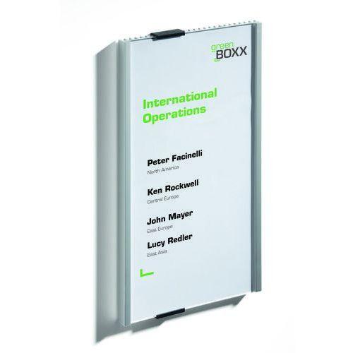 Durable Tabliczka przydrzwiowa info sign 149x297 mm, (4005546400068) - OKAZJE