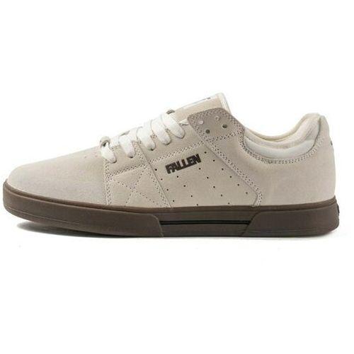 Buty - trooper chris cole white/dark gum (white-darkgum) rozmiar: 40.5, Fallen