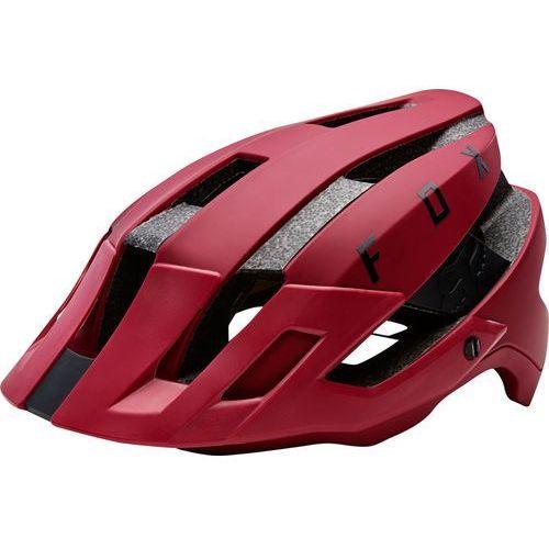 Fox flux kask rowerowy mężczyźni czerwony l/xl | 59-63cm 2018 kaski rowerowe (0884065873911)