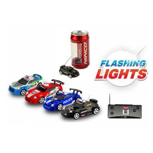 Ninco Sterowany samochód w puszce ze świecącymi światłami - losowy model