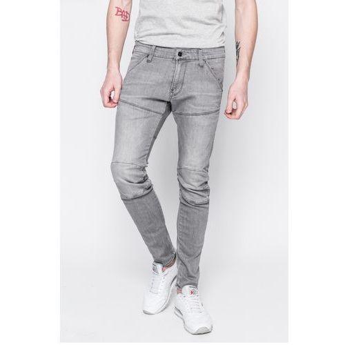 - jeansy 3d super slim marki G-star raw