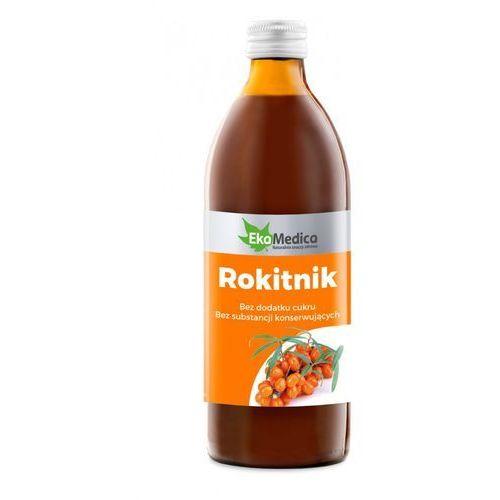 SOK Z ROKITNIKA 100% 500ml EkaMedica (5902596671129)