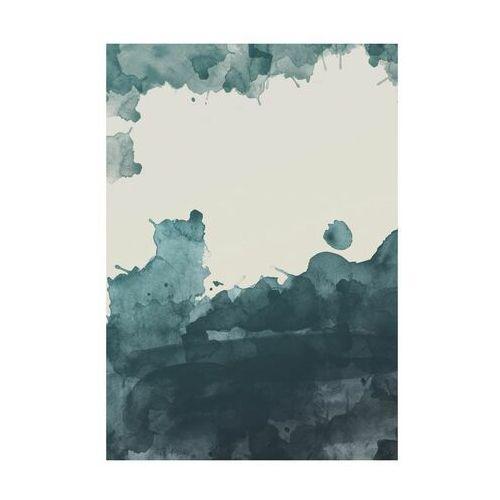 Art canvas Kanwa zielona akwarela 70 x 100 cm
