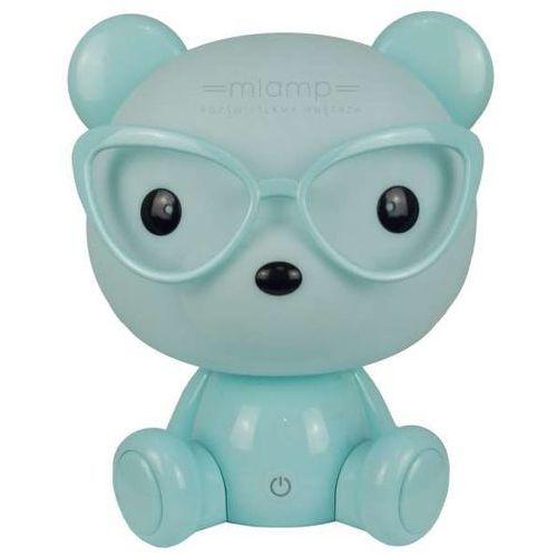 Led lampka nocna dziecięca led/2,5w mysz niebieski marki Polux