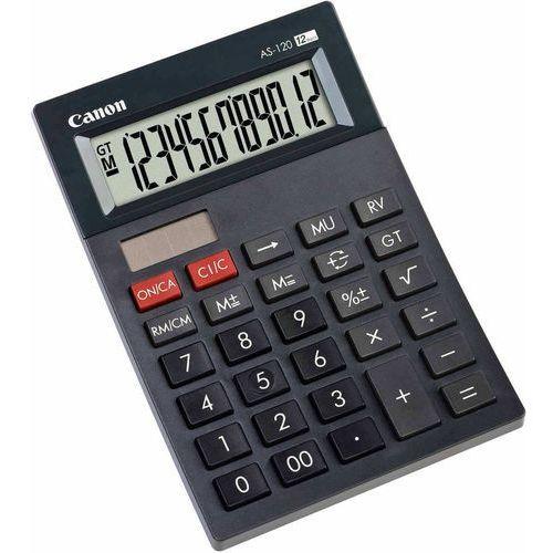 Kalkulator CANON AS-120 + Zamów z DOSTAWĄ JUTRO!