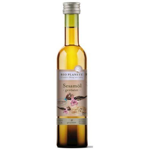 Bio planete (oleje i oliwy) Olej sezamowy (z prażonych nasion) bio 100 ml - bio planete (3445020241953)