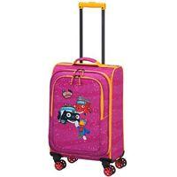 Travelite bohaterowie miasta walizka mała kabinowa dla dzieci 20/54 cm / różowa - pink (4027002065697)