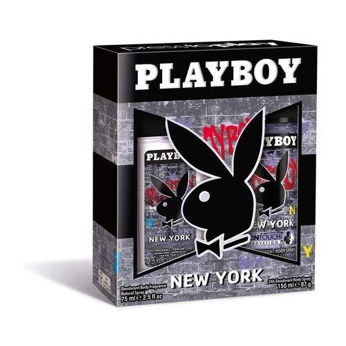 PLAYBOY ZESTAW KOSMETYKÓW NEW YORK MEN DNS+SPR (3614223257973)