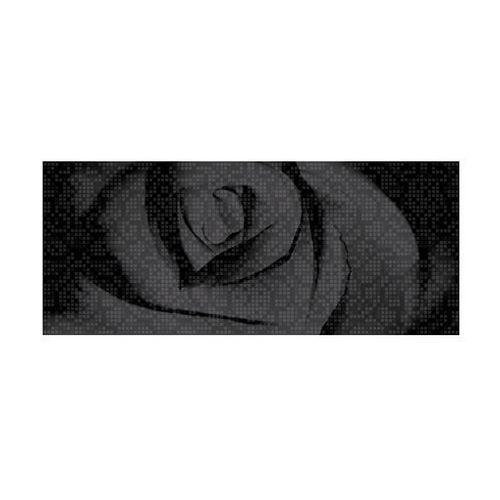 Dekor b&w efekta roza czarna marki Ceramika color