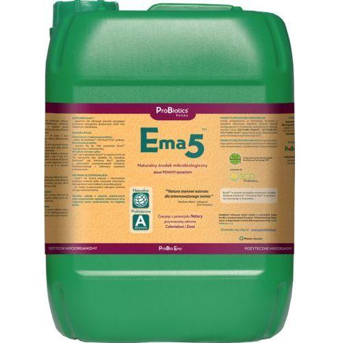 Ema5 - naturalny higienizator przeciw grzybom i niektórym szkodnikom - 10 litrów naturalny higienizator, fungicyd i bakteriocyd marki Probiotics polska sp z o.o.