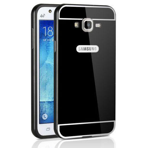 Mat Bumper Metal Czarny | Obudowa z bumperem dla modelu Samsung Galaxy J5 2016 - Czarny