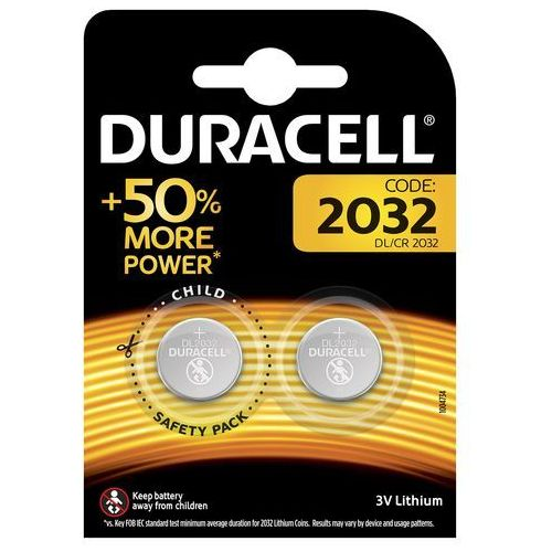 Baterie DURACELL DL/CR 2032 2szt.