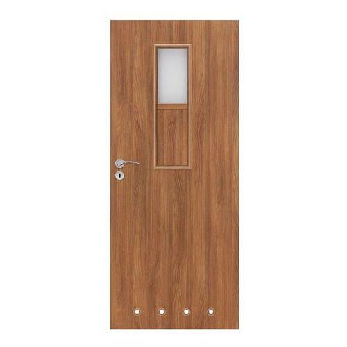 Drzwi z tulejami Olga 80 prawe akacja, S 80P OLGA WC AK