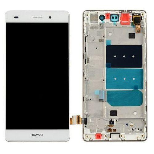 Wyświetlacz LCD digitizer Huawei P8 Lite biały