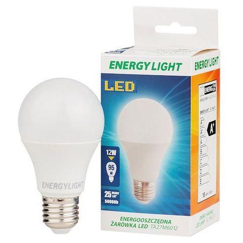 Żarówka 12W ENERGY LIGHT E27 BAŃKA ciepła - produkt z kategorii- Żarówki LED