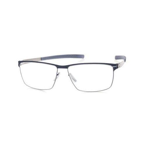 Ic! berlin Okulary korekcyjne  m1329 sven h. marine blue