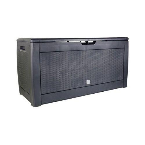 Skrzynia ogrodowa PROSPERPLAST Boxe Rato S433 Antracyt Skorzystaj z kodu rabatowego! DARMOWY TRANSPORT (5905197098432)