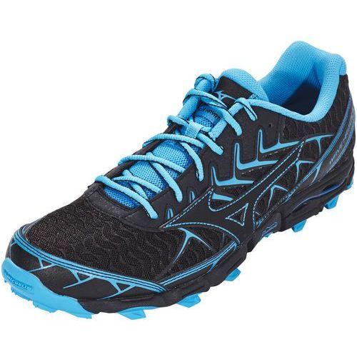 wave hayate 4 buty do biegania mężczyźni niebieski/czarny uk 12 | eu 47 2018 szosowe buty do biegania marki Mizuno