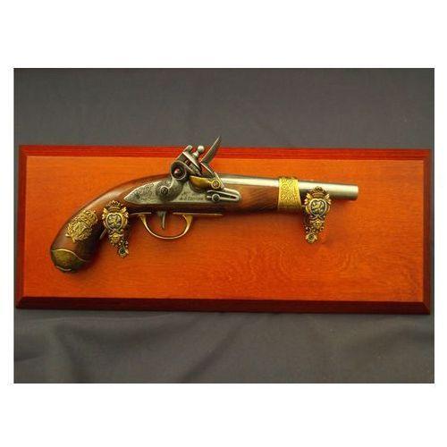 Denix sa Napoleoński pistolet z 1806 roku na tablo denix model 1063+tm+23