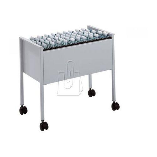 Wózek na teczki zawieszane Durable Economy 80 A4 srebrny 3095-23